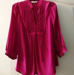 Trina Turk Pink Top, size L